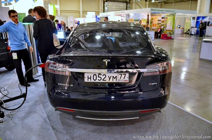 Как устроен электромобиль Tesla Model S (2)