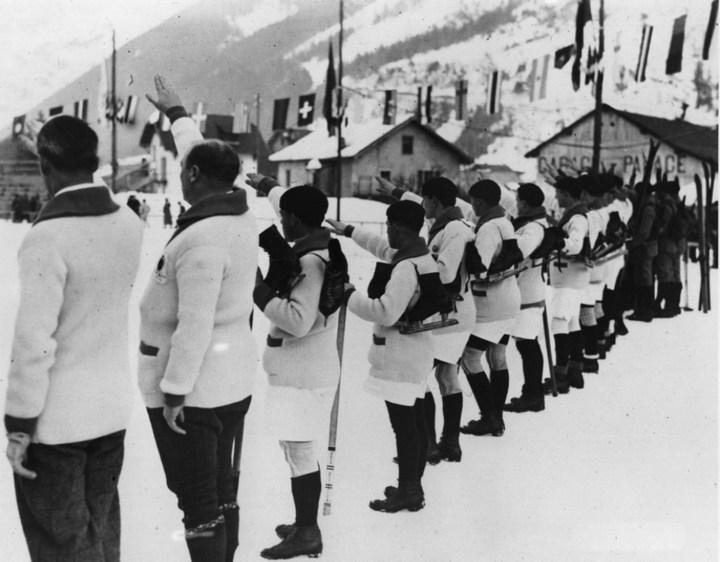 Первые зимние Олимпийские игры 1924 года, ретро фотографии (5)