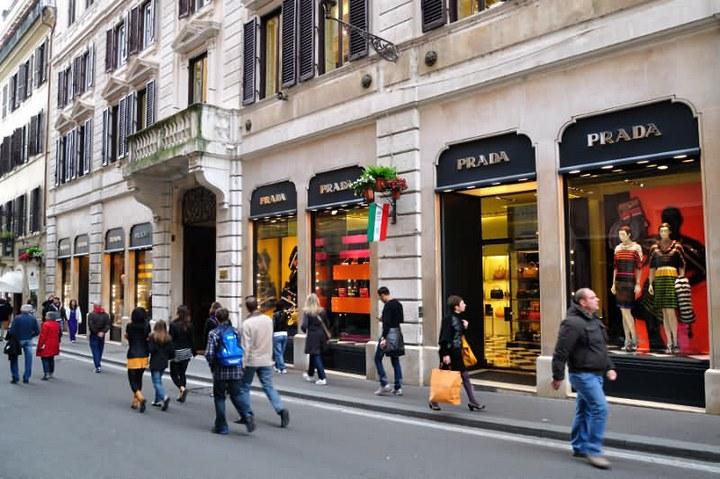 """Шоппинг в Риме: одна из особенностей """"итальянского отдыха"""" (1)"""