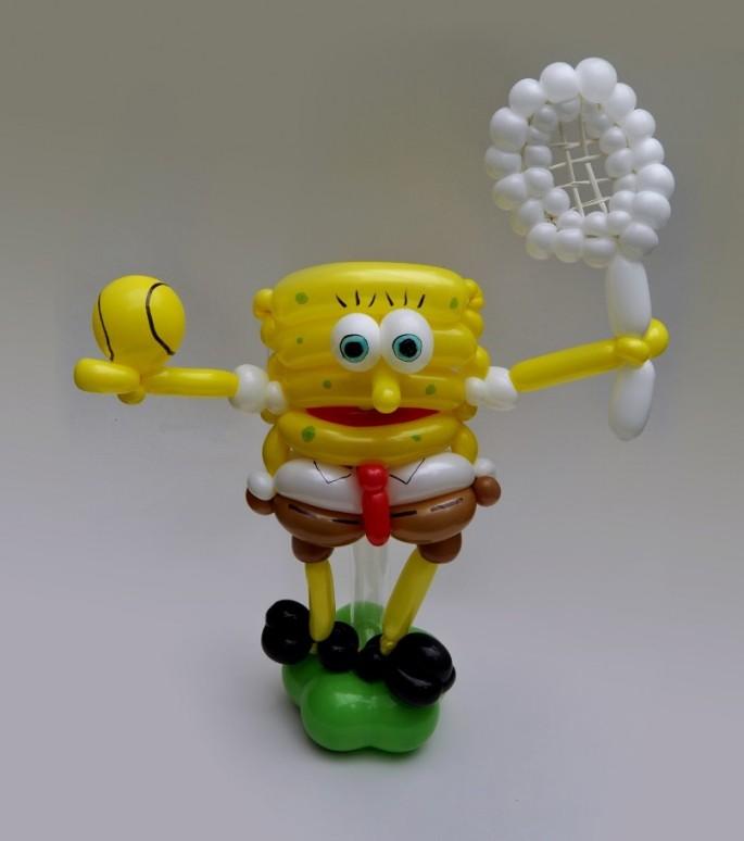 Красивые фигуры из длинных воздушных шаров. Примеры фигур из воздушных шаров (5)