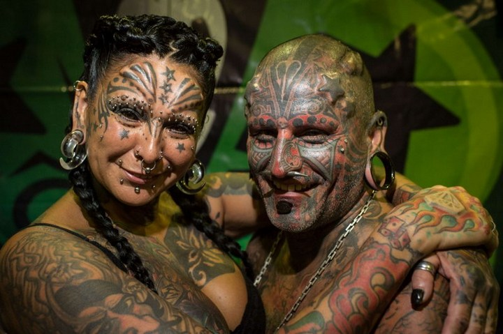 Самые татуированные люди (1)
