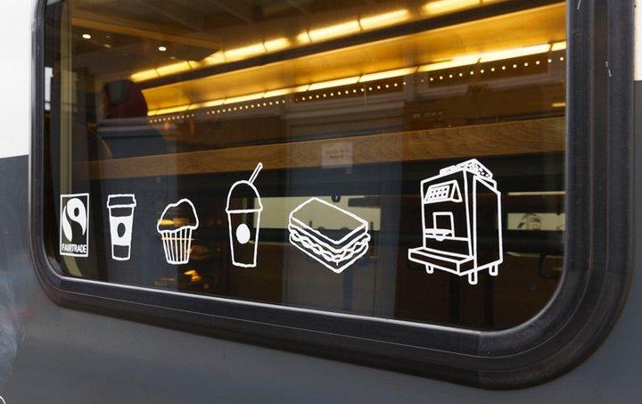 Первый поезд-кофейня Starbucks в Швейцарии (3)