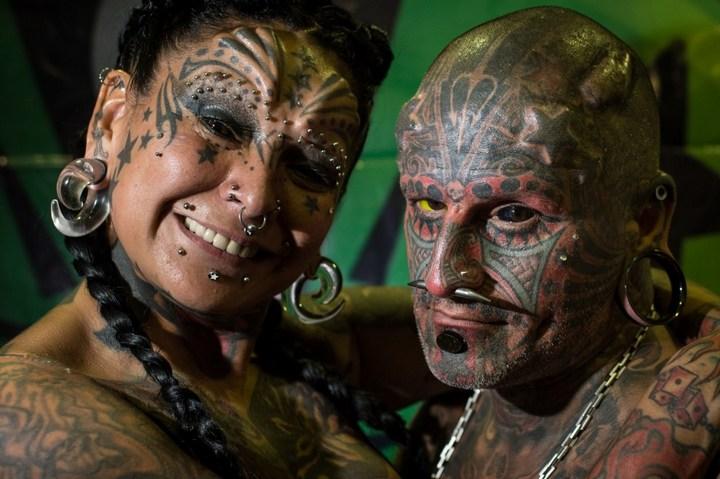 Самые татуированные люди (9)