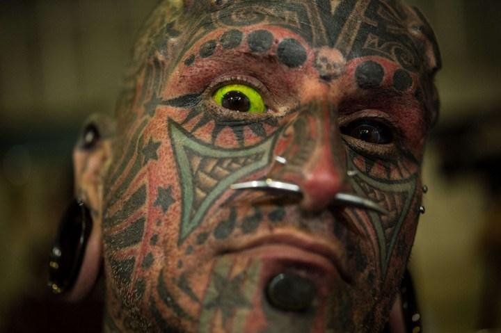 Самые татуированные люди (11)