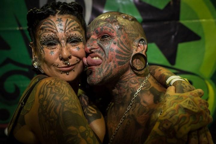 Самые татуированные люди (12)