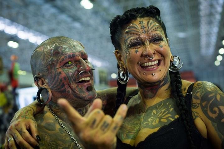 Самые татуированные люди (13)