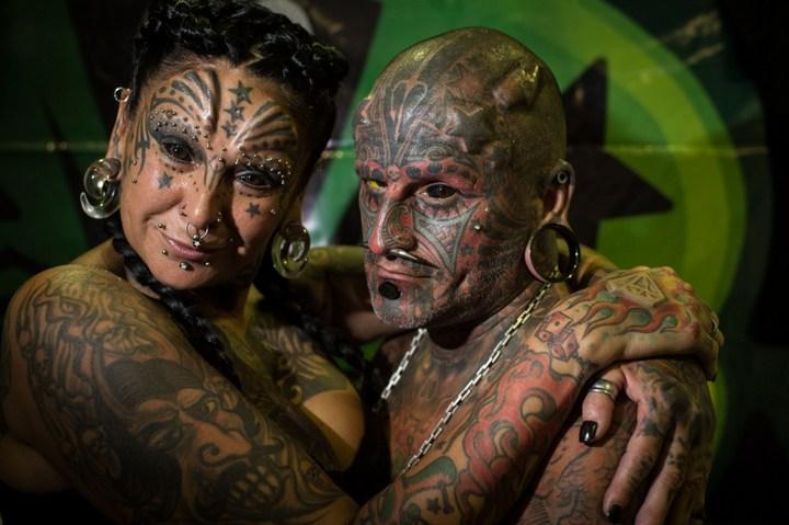 Самые татуированные люди (15)