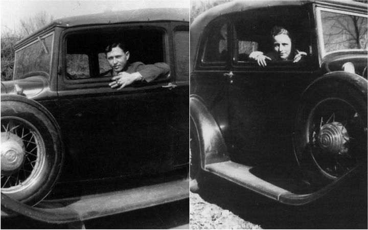 Знаменитые гангстеры Бонни и Клайд. Как это было (15)