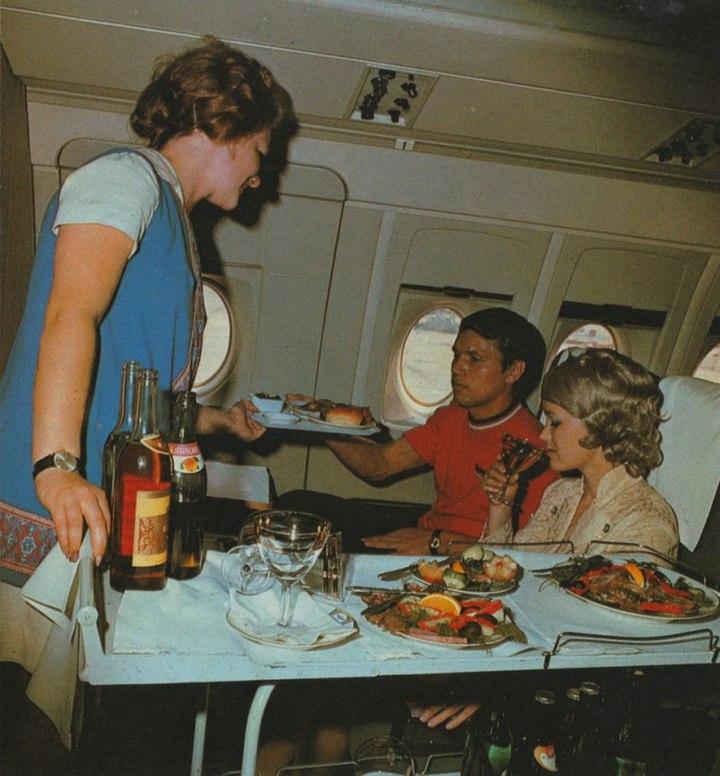 Реклама Аэрофлота времен СССР, История авиакомпании Аэрофлот, интересные факты (7)