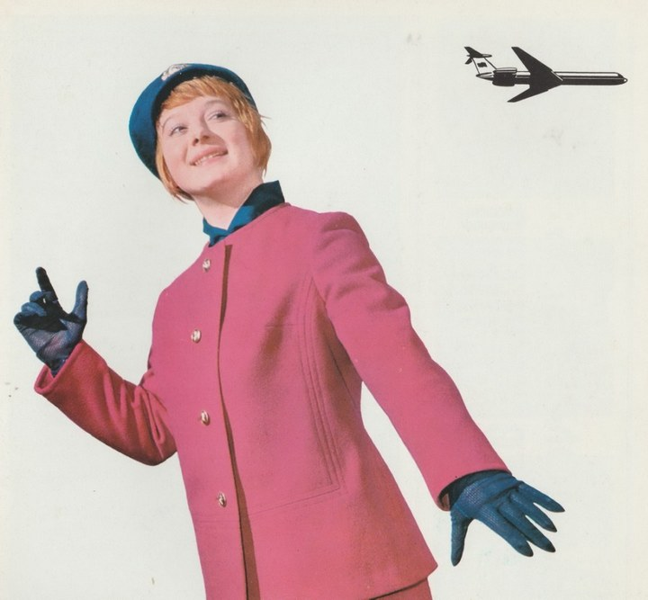 Реклама Аэрофлота времен СССР, История авиакомпании Аэрофлот, интересные факты (16)