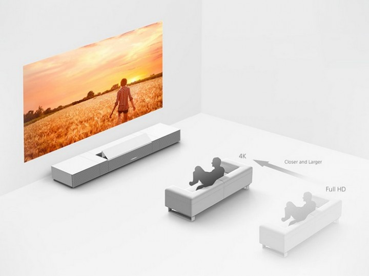 Мультимедийный проектор Sony 4K Ultra Short Throw Projector поступил в продажу (3)
