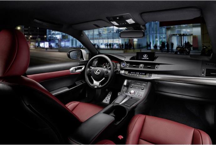Новый Lexus CT 200h (5)