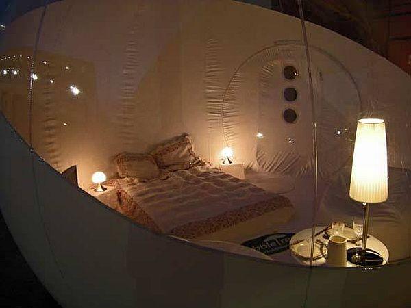 Прозрачный, надувной дом Bubble Tree (5)