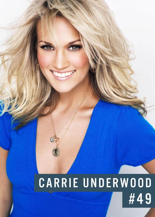 Самые популярные девушки интернета. Рейтинг ТОП - 50 Carrie Underwood (Кэрри Андервуд) (2)