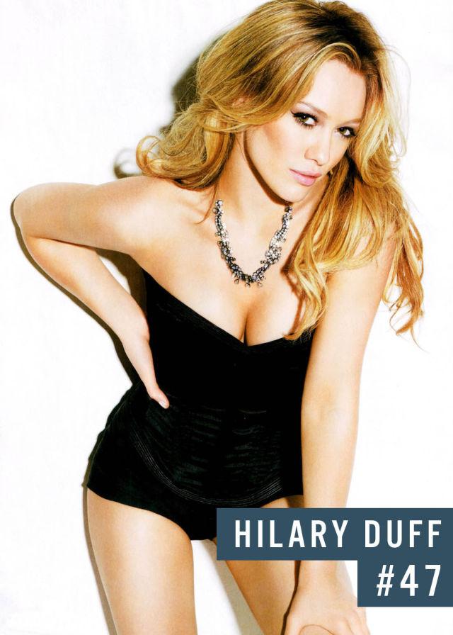 Самые популярные девушки интернета. Рейтинг ТОП - 50 Hilary Duff (Хилари Дафф) (4)