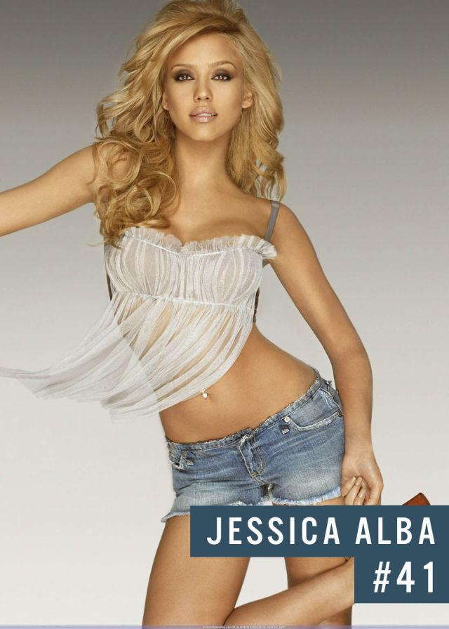Самые популярные девушки интернета. Рейтинг ТОП - 50 Jessica Alba (Джессика Альба) (10)