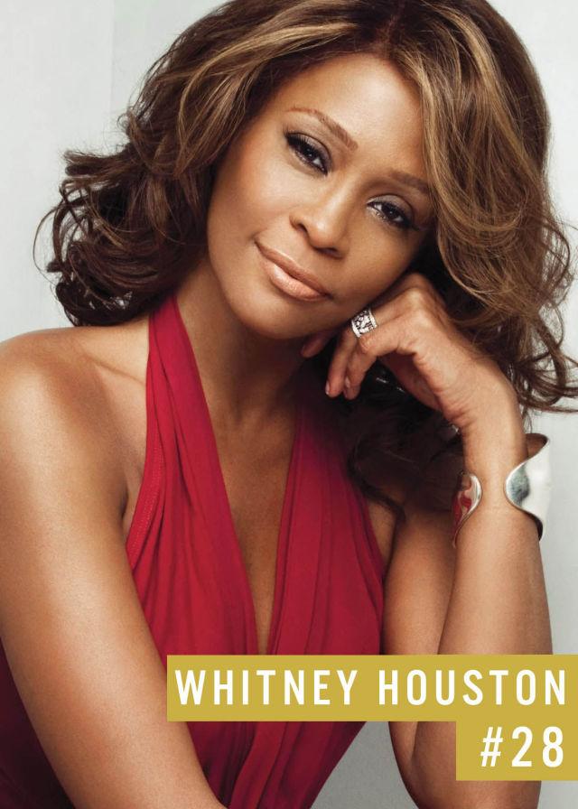 Самые популярные девушки интернета. Рейтинг ТОП - 50 Whitney Houston (Уитни Хьюстон) (23)