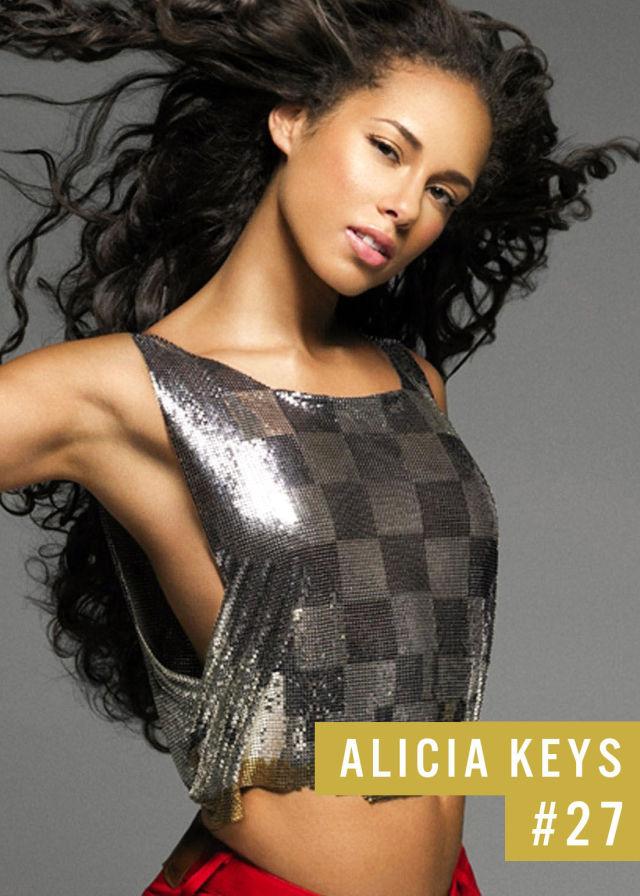 Самые популярные девушки интернета. Рейтинг ТОП - 50 Alicia Keys (Алиша Киз) (24)