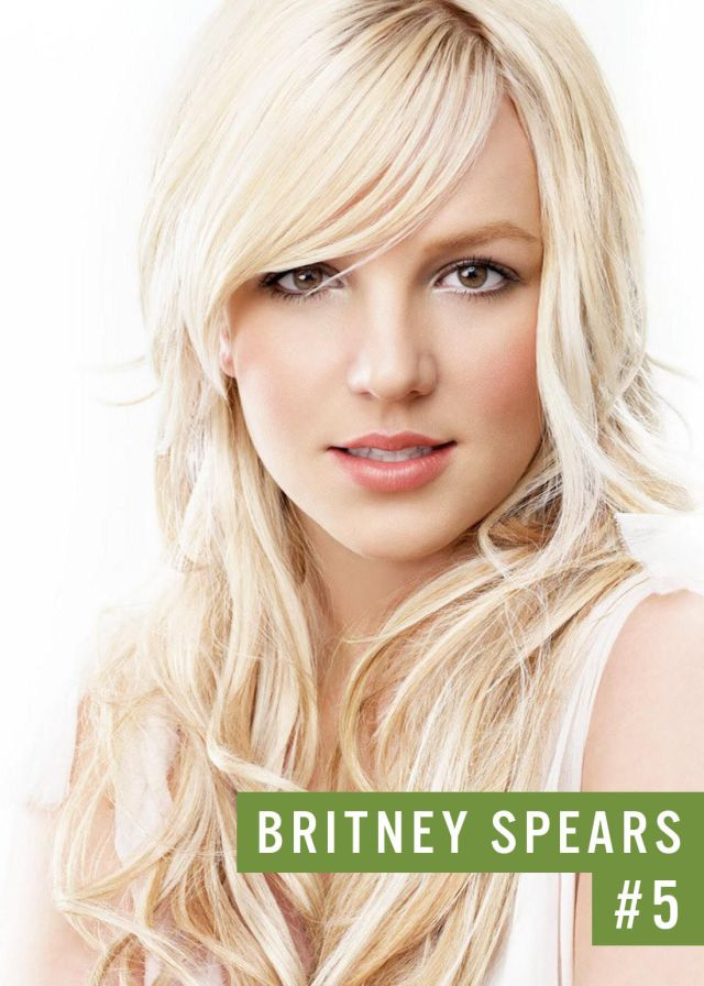 Самые популярные девушки интернета. Рейтинг ТОП - 50 Britney Spears (Бритни Спирс) (46)