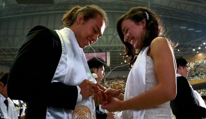 Самая массовая церемония бракосочетания в Южной Корее (2)