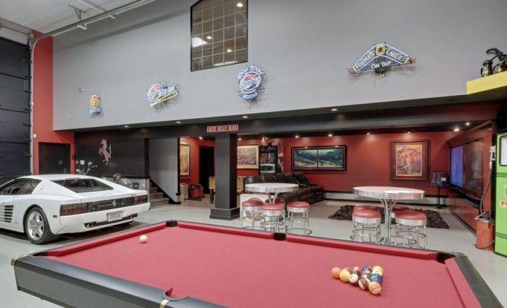 Такой гараж мечта любого мужчины, Крутой интерьер гаража (6)