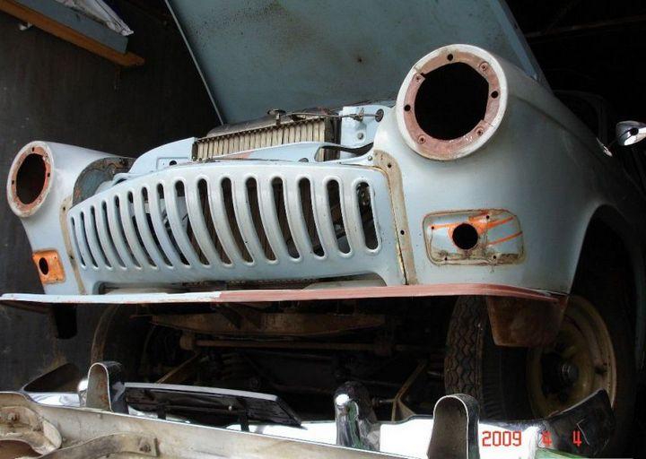 Процесс восстановления Волги ГАЗ - 21 (5)