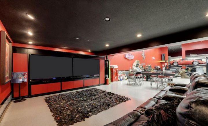 Такой гараж мечта любого мужчины, Крутой интерьер гаража (4)
