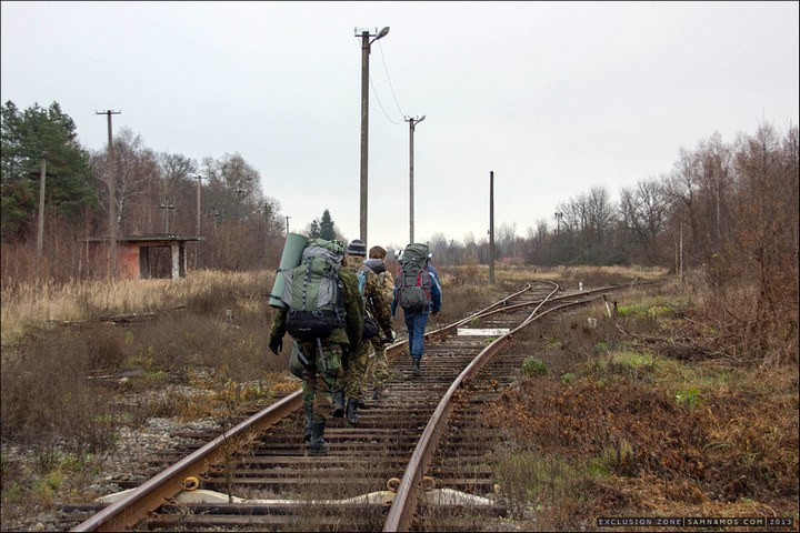 Нелегальный поход в Припять, как своими силами добраться до Припяти (7)