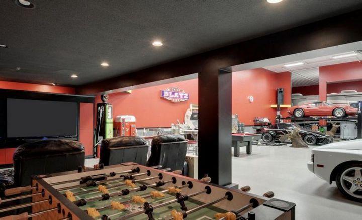 Такой гараж мечта любого мужчины, Крутой интерьер гаража (2)