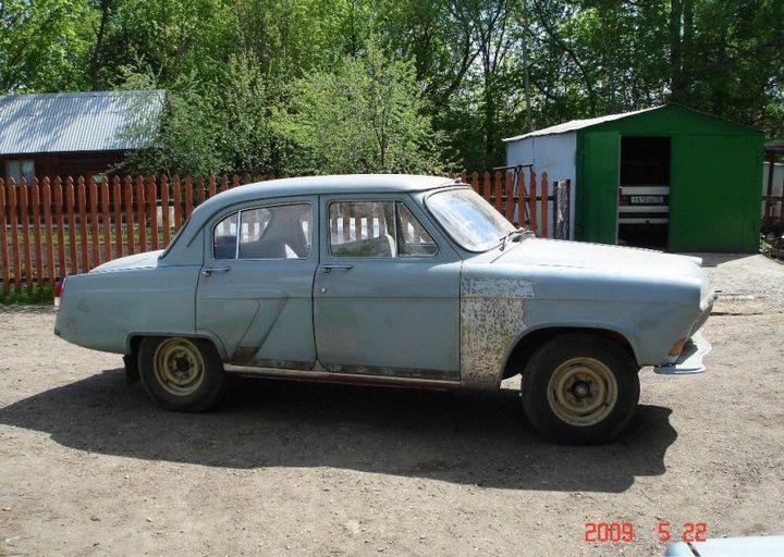 Процесс восстановления Волги ГАЗ - 21 (8)