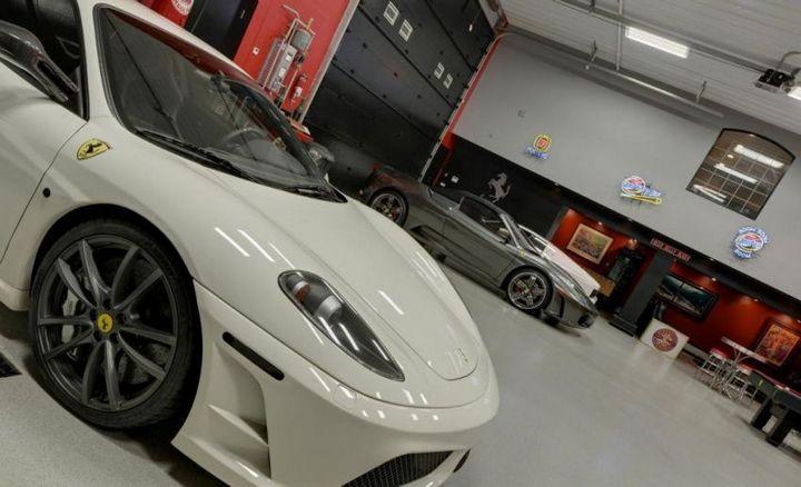 Такой гараж мечта любого мужчины, Крутой интерьер гаража (1)