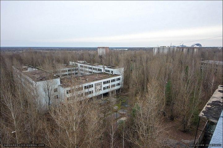 Самостоятельный поход в Припять (9)