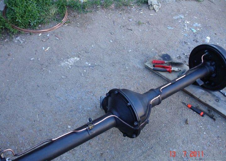 Процесс восстановления Волги ГАЗ - 21 (15)