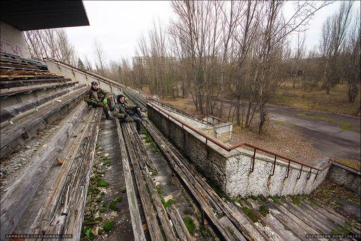 Самостоятельный поход в Припять (15)
