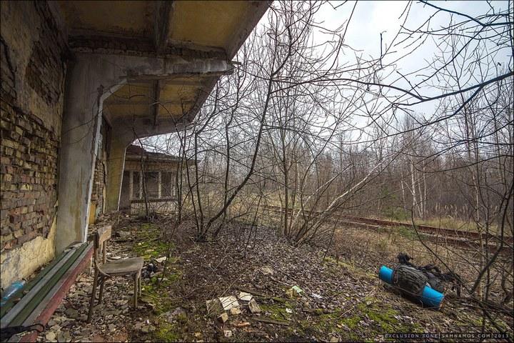 Нелегальный поход в Припять, как своими силами добраться до Припяти (55)