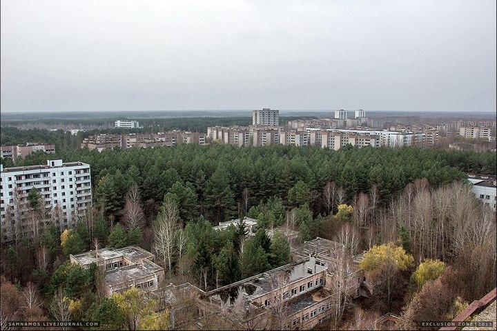 Самостоятельный поход в Припять (66)
