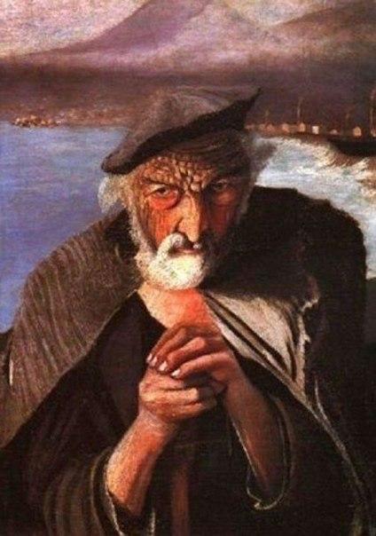 Загадка картины «Старый Рыбак» (1)
