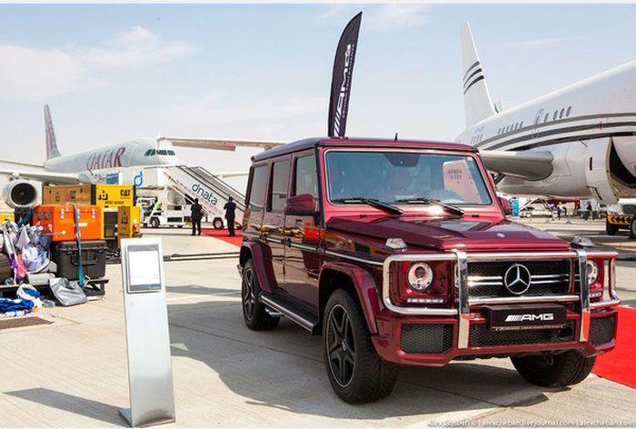Доставка роскошных автомобилей арабских шейхов (10)