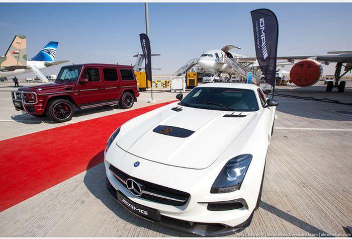 Доставка роскошных автомобилей арабских шейхов (14)
