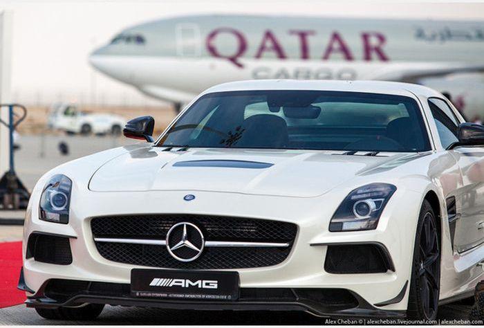 Доставка роскошных автомобилей арабских шейхов (18)
