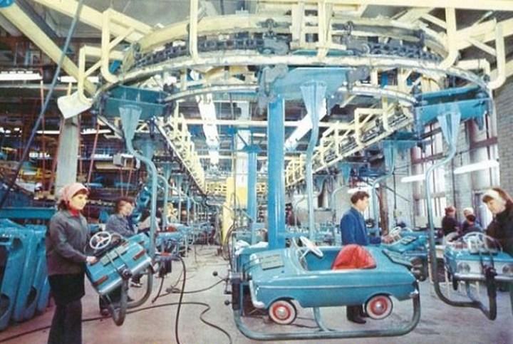 Педальные детские машины в СССР (5)