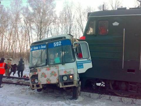 аварии на железнодорожных переездах (9)