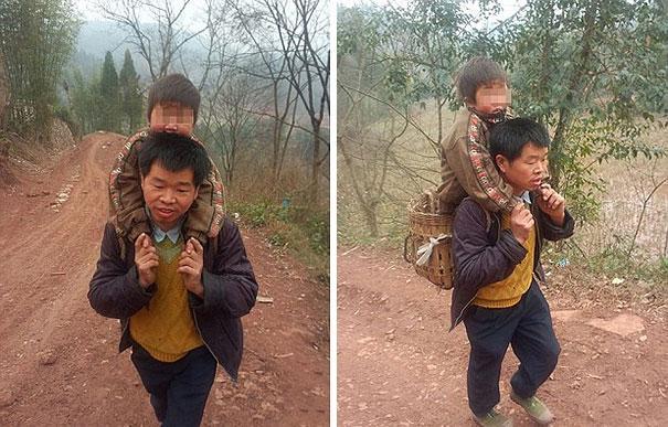 Трудная дорога в школу (1)