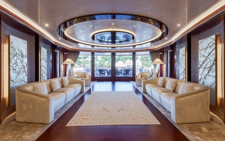 Шикарная яхта за 1.300.000$ в неделю (24)