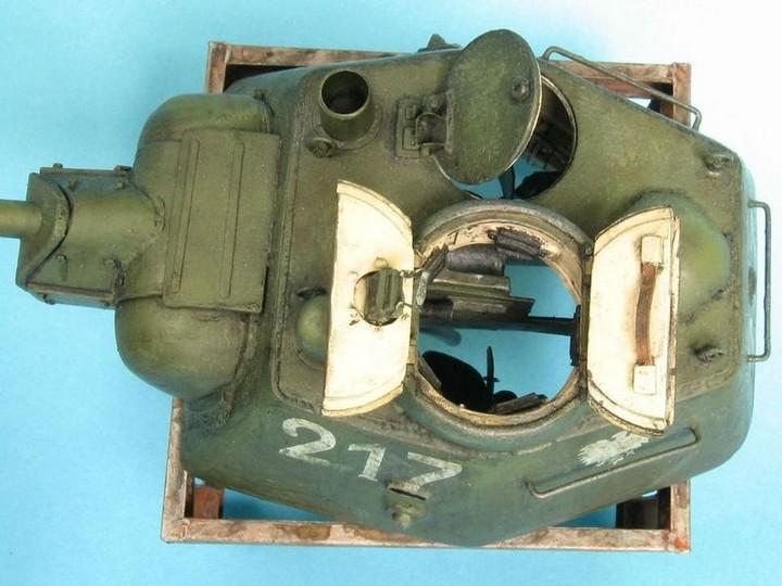 Реалистичная модель танка T-34/76 (15)