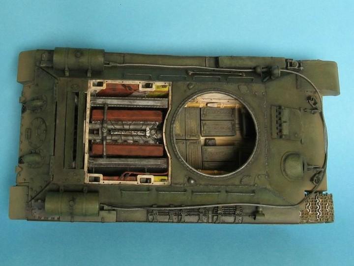 Реалистичная модель танка T-34/76 (17)