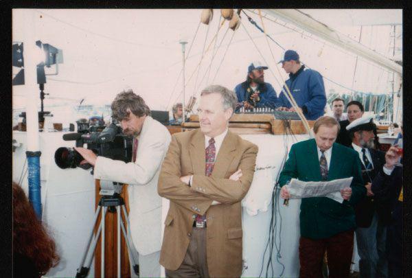 Фото Путина в начале карьеры, Путин и Собчак (6)
