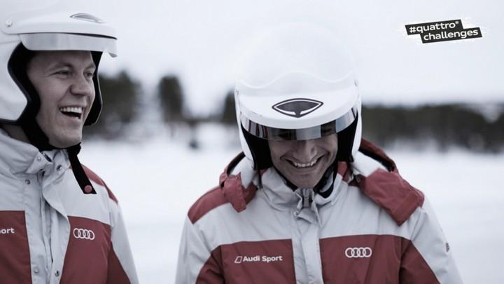 "Спонсируемое видео. ""Ледовое побоище"" Audi RS 6 Avant quattro (1)"