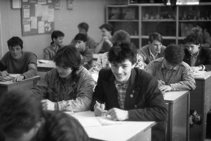Ностальгия. Школа № 205, 1991 год (1)