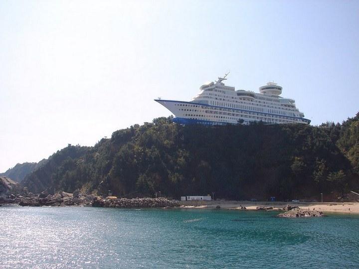 Корабль-отель Sun Cruise в Южной Корее (1)